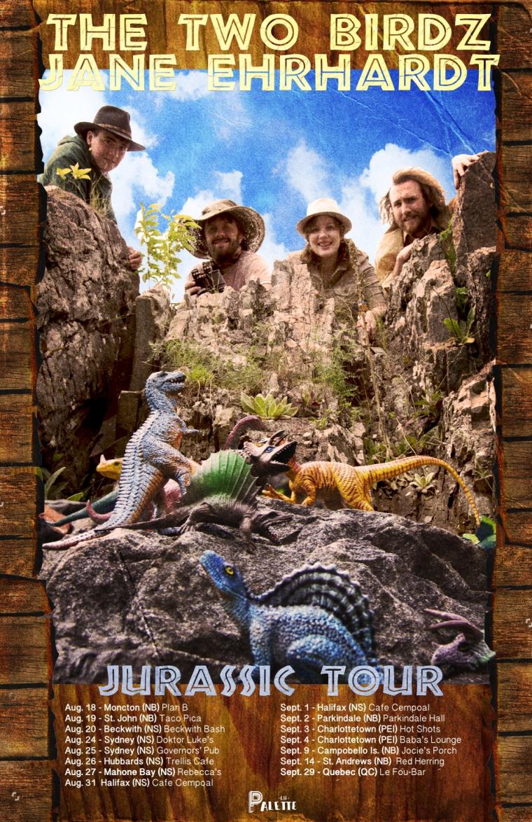 Jurassic Tour 2016